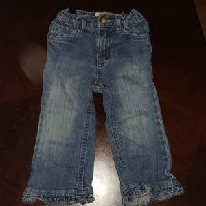 24mo Jean's with flare bottom